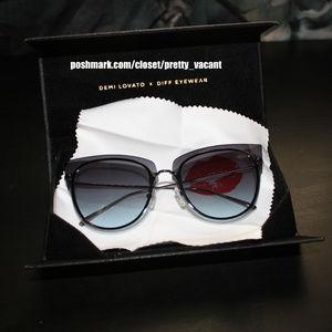 DIFF Eyewear x Demi Lovato Cat Eye sunglasses